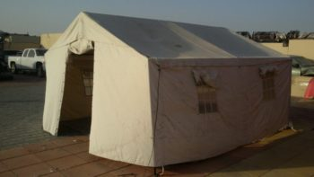 Refugee - emergency - army/military tent shelter